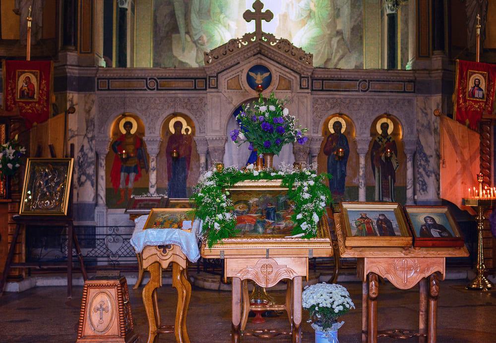 День памяти Праведных Богоотец Иоакима и Анны в Свято-Никольском храме-памятнике